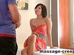Asian teen girl fuck masseur