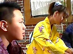 engraçado sexo em grupo japonês