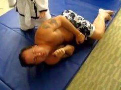Karate grapling