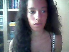 Ebony spanish playing hairy pussy on cam - by GranDBastard