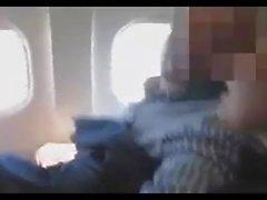 handjob in A320 airplane