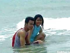 casal adolescente asiático adolescentes
