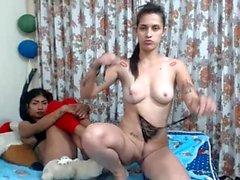 Twins girls webcam amateur lesbian homemade 2010