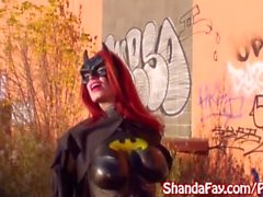 Shanda Fay is Bat Girl the Cock Sucker!