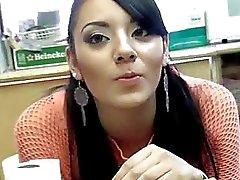 Sexy latina Sasha picked up and fucking