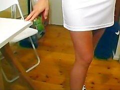 corvino magro grandi tette striscia nylon