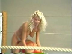 Topless Retro Ring Wrestling
