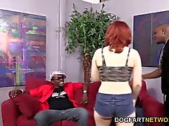 Sadie Kennedy Gets Her Holes Filled With Black Cock