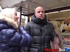 Dutch lezzie licks hooker