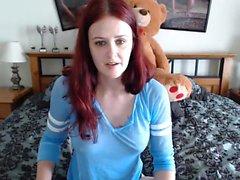 amatör mastürbasyon redhead