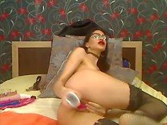 dritto dilettante adolescente webcam pov