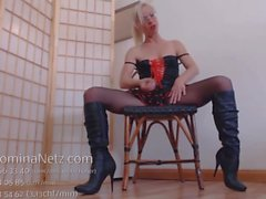 Extrem Sklaven German JOI Tease and Denial Wichsanweisung in Boots