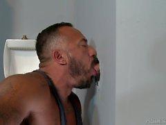homossexual pornô gay suportar boquete buraco da glória