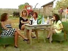 Angelica Bella and Simona Valli in Retro Gang Bang