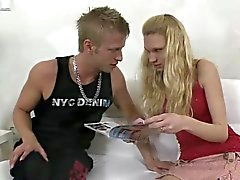 blondine blowjob hahnrei