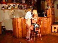 blond caucasien lesbienne