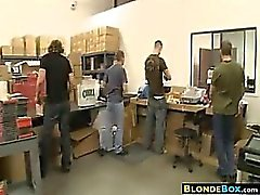 anal blondine blowjob