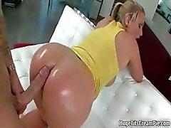 anaal ezel grote tieten blond