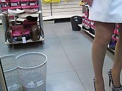 piscando nudez em público meias upskirts voyeur