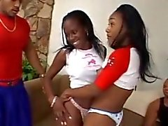 Black teens fucked then swallo loads of cum