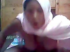 Arab Hijab girl on cam