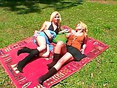 Brazilian TS and Female Outdoors