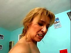 Good Shape Granny Anal