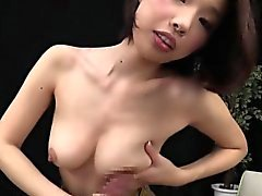 asiatico handjob giapponese milf