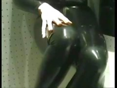 dannii harwoodoswaldtwistle kink rökning röka -fetisch förbjuden - in latexen