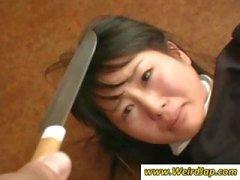 asiatisch fetisch demütigung japanisch dienstmädchen