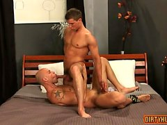 Muscle gay dp with facial