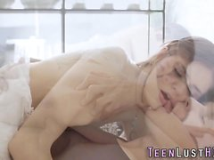 Cum drench sizzling teen