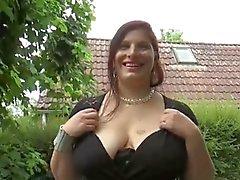sexy chubby wife first gangbang