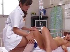 asiatique lesbiennes manger la chatte