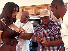 Madison Rose gets drilled by Big Black Dick