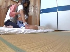 Jap idle girls fucked for job