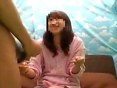 amador asiático boquete masturbação