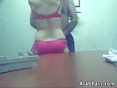 Hidden Office Camera Caught Arab Fuckers