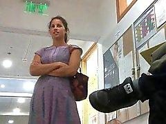 dilettante brune feticismo del piede voyeur