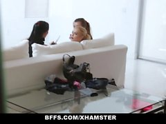 BFFS - Lucky Guy Gets Fucked By Hot Teen Models