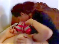 Egyptian lesbians having fun. Amateur
