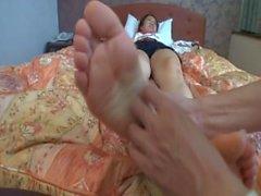 legata - per - da letto piedi solletico solletico -piedi