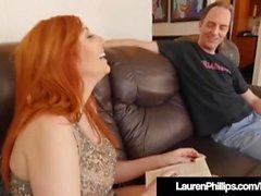 lauren phillips laurenphillips redhead big ass natural seins poil