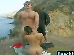 People Having Sex Near The Beach