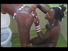 Anyango and Waithera enjoy each other nude in Mombasa!