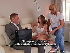 My boss fucked my wife