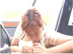 Gorgeous redhead sucks and rides c Tanna