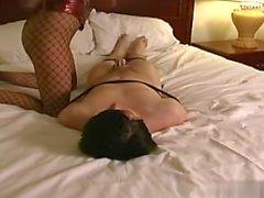 Exgf cum between tits