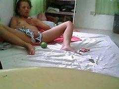 filipina - mastürbasyon yapmak orgazm yapay penis