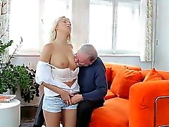 Karol Lilien Juicier And Taut With An Old Man